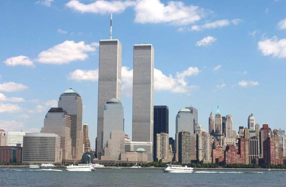 The New York City skyline. (July 20, 2001)