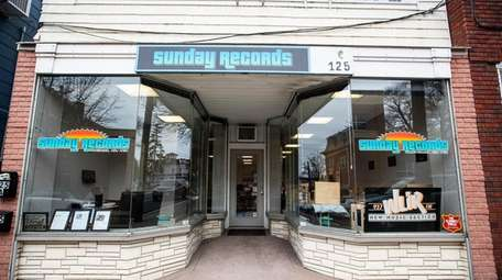 Sunday Records, open only on Sundays in Riverhead,