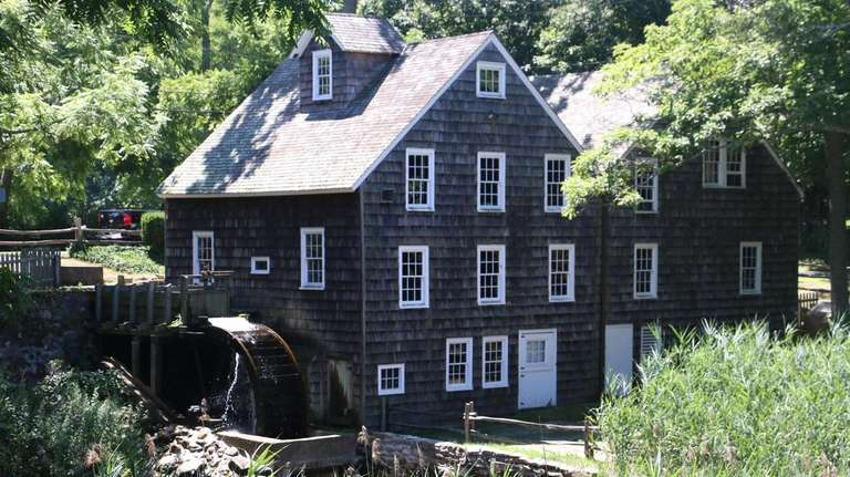 Stony Brook Grist Mill.