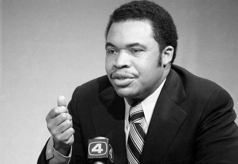 Ken Gibson, who became the first black mayor