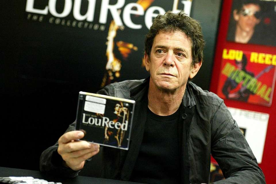 Lou Reed was inducted twice: first with The