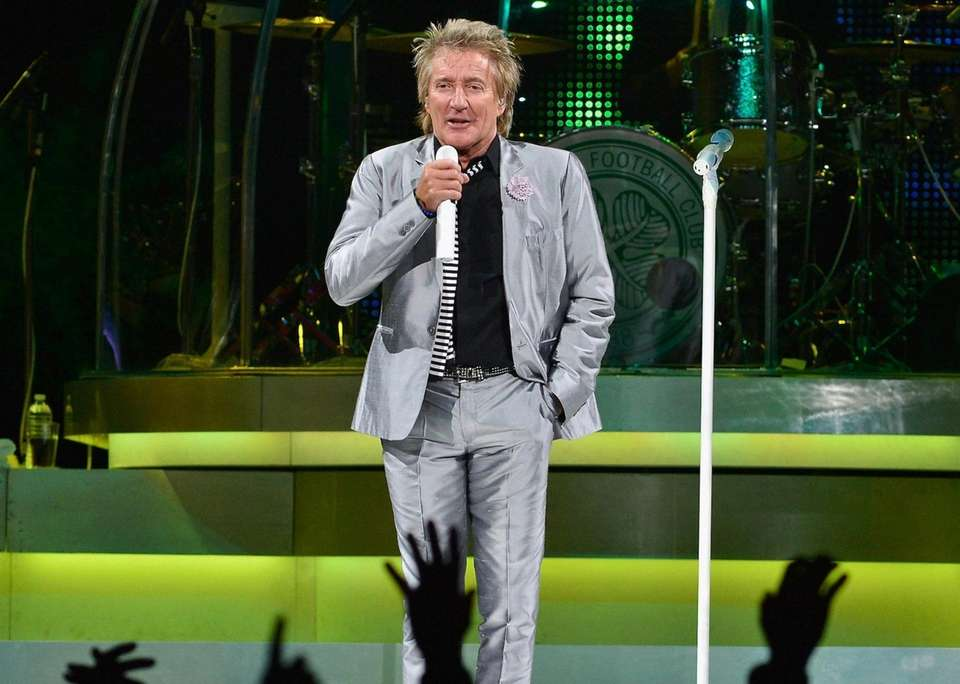 Rod Stewart was inducted solo in 1994, then