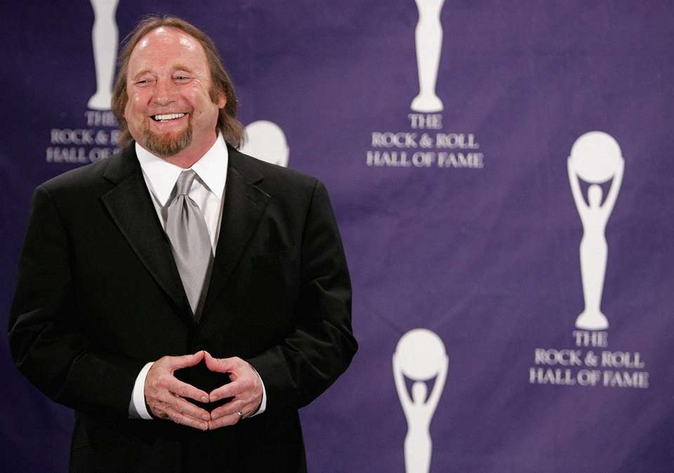 Stephen Stills was inducted twice, on the same