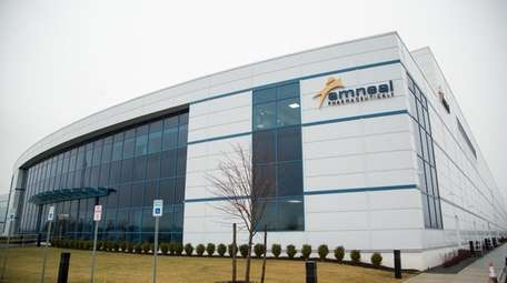 Amneal Pharmaceuticals LLC's facility in South Yaphank. The
