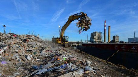 Sandy debris in Oceanside in 2012.