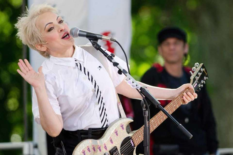 Jane Wiedlin of The Go-Go's performs on ABC's