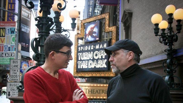 Playwright Roberto Aguirre-Sacasa and director Philip William McKinley