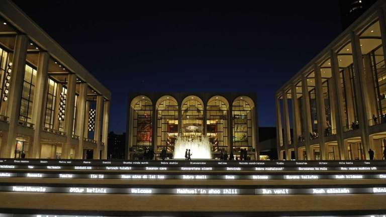 Lincoln Center for the Performing Arts in New