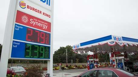 Gasoline prices are ticking up on Long Island,