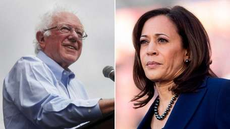 Sanders and Harris are among the Democratic