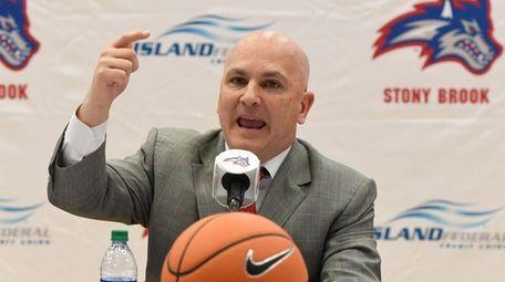 New Stony Brook men's basketball coach Geno Ford
