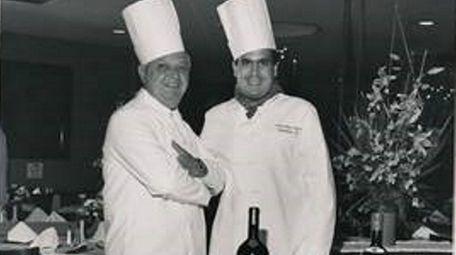 Joe Scognamillo, left, was the chef at Patsy's