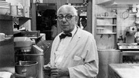 "Pasquale ""Patsy"" Scognamillo, in his trademark gray jacket,"