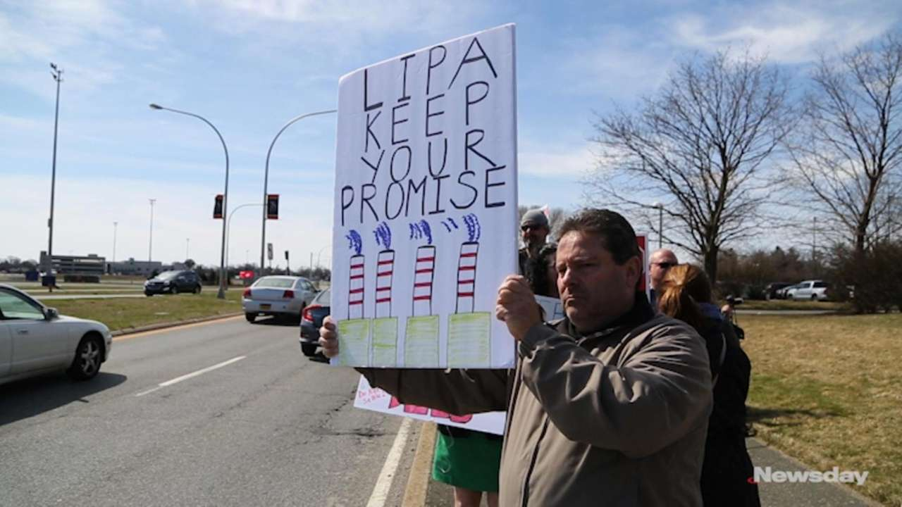 On Tuesday,Paul Darrigo of Northport and other residents