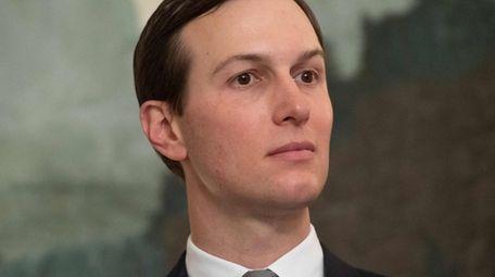 Senior White House Adviser Jared Kushner attends a