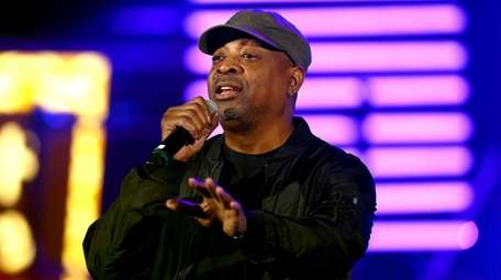 Chuck D performs onstage during Michael Muller's