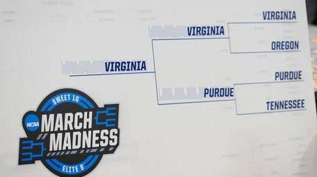 This is the South Region bracket after the