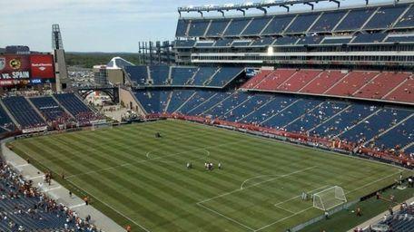 Spain v. USA friendly at Gillette Stadium, Foxborough