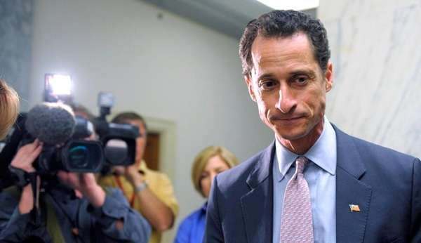 U.S. Rep. Anthony Weiner (D-N.Y.) testifies before the
