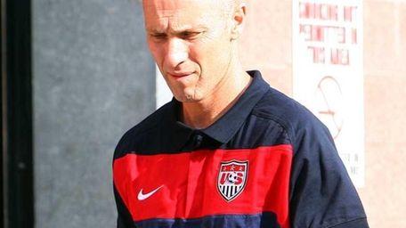 Head Coach Bob Bradley of the United States