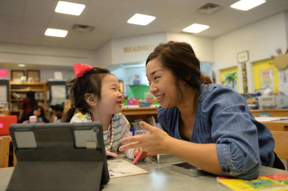 In Valley Stream, parents are heading back to