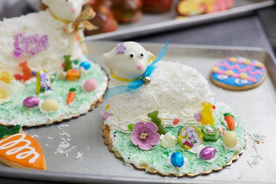 The lamb cake, Tilda's Bake Shop, Rocky Point,