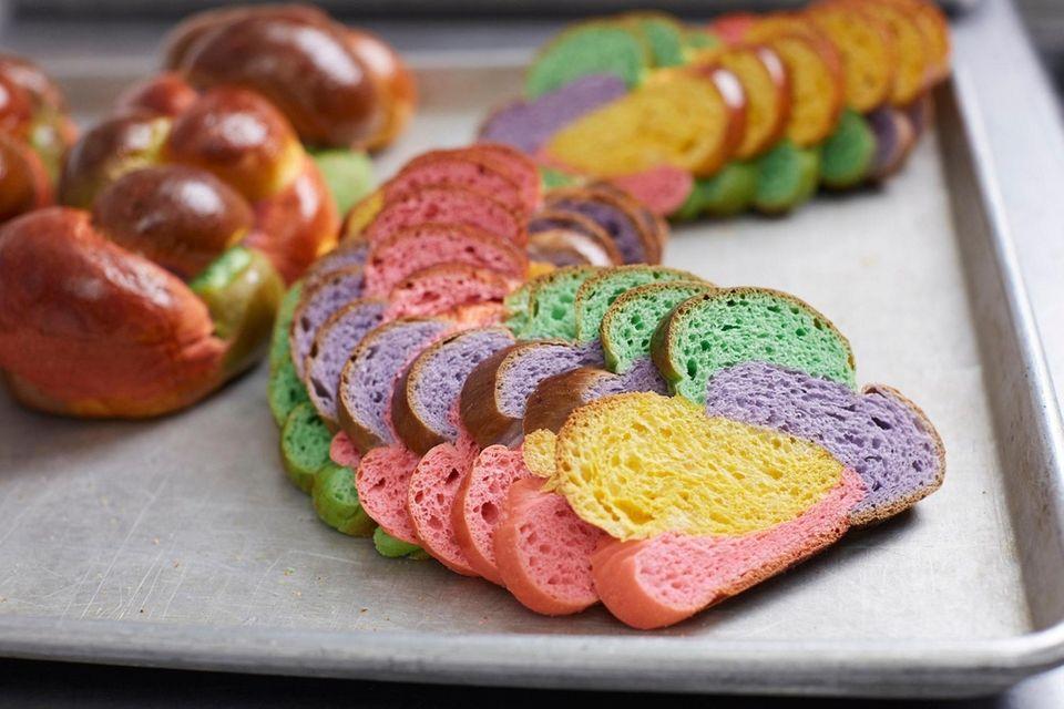 Easter bread, Tilda's Bake Shop, Rocky Point, March