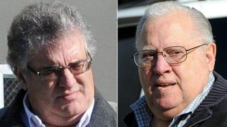 Former Oceanside sanitation commissioners Charles, left, and Michael