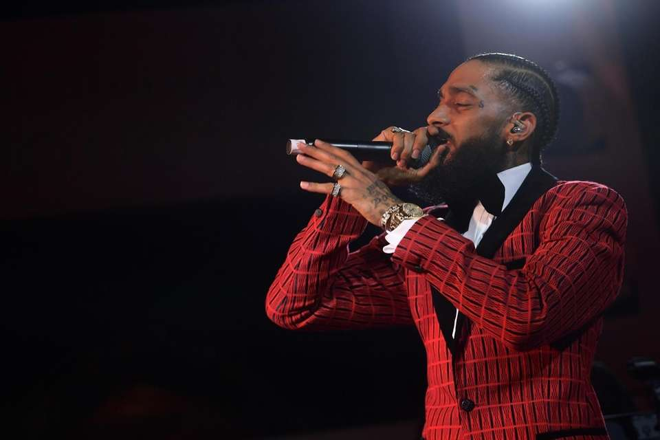 Rapper Nipsey Hussle was shot and killed outside