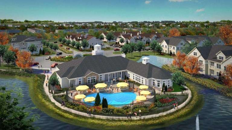 An artist's rendering illustrates the proposed AvalonBay affordable
