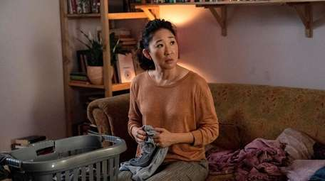 Sandra Oh as Eve Polastri in the BBC
