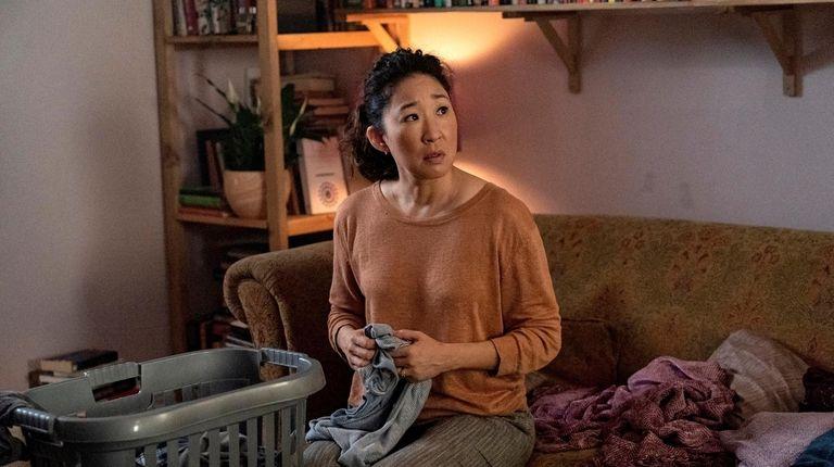Sandra Oh as Eve Polastri in the BBC