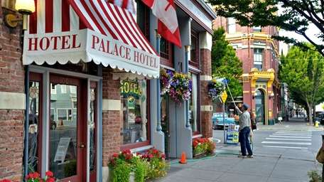The charming village of Port Townsend is noted