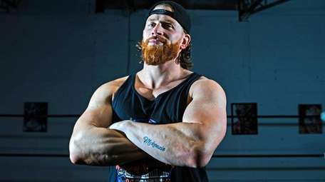 WWE's Curt Hawkins at his Create A Pro