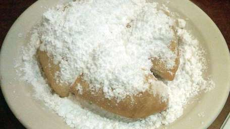 Beignets served at Mara's Homemade in Syosset. (June