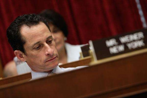 Rep. Anthony Weiner while he was in Congress.
