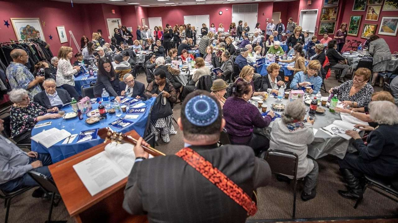 About 85 Holocaust Survivors And Their Guests Enjoyed A