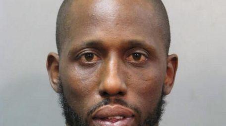 Hamilton Croft, 38, pictured, of Hewlett, was arrested