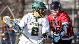 Jake Dibenedetto of Lynbrook canÕt get past Cold