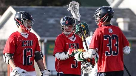 Cold Spring Harbor's Brady Strough, left, and Will
