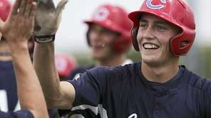 Brandon Nimmo of Cheyenne, Wyo. was selected by