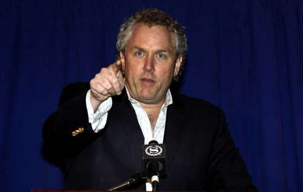 Andrew Breitbart, the conservative blogger who exposed the