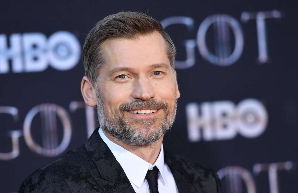 "Danish actor Nikolaj Coster-Waldau arrives for the ""Game"
