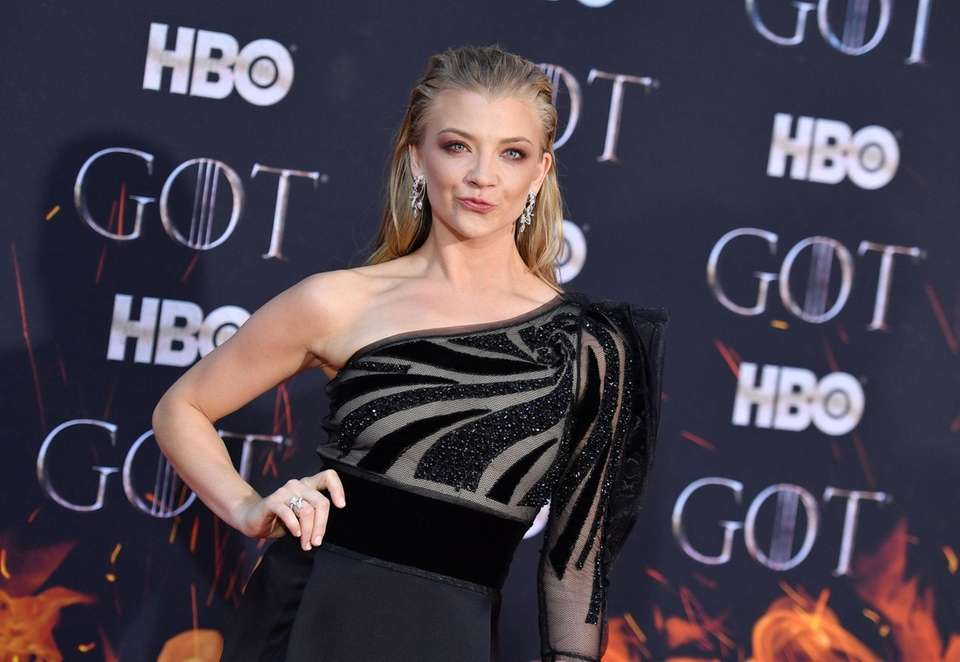 "British actress Natalie Dormer arrives for the ""Game"
