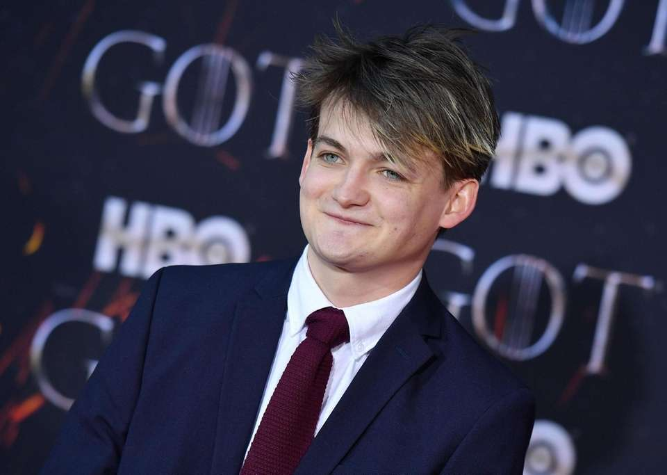 "Irish actor Jack Gleeson arrives for the ""Game"