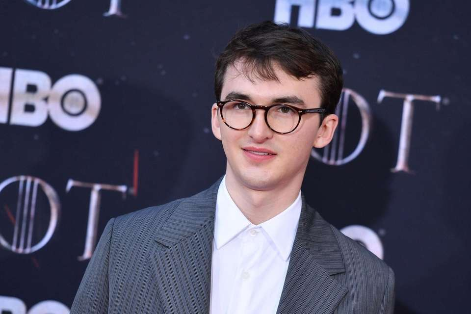 British actor Isaac Hempstead Wright arrives for the
