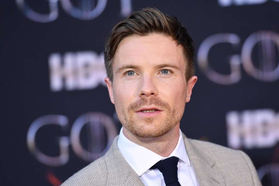"British actor Joe Dempsie arrives for the ""Game"