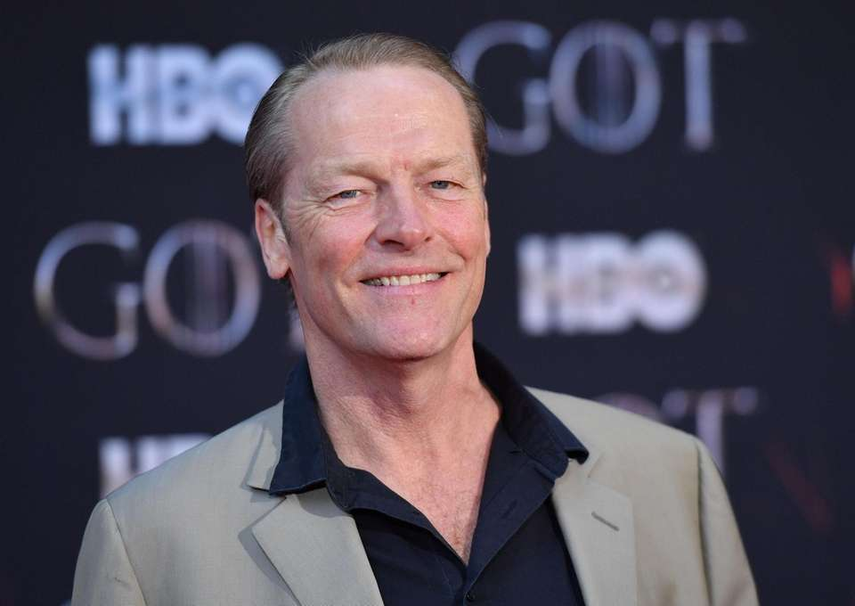 "Scottish actor Iain Glen arrives for the ""Game"