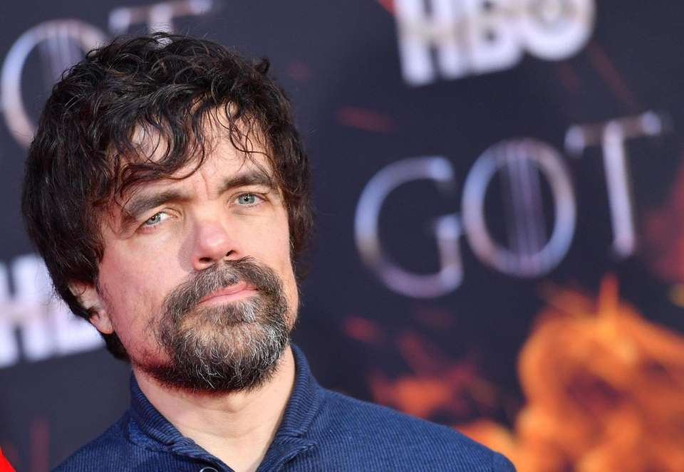 "US actor Peter Dinklage arrives for the ""Game"