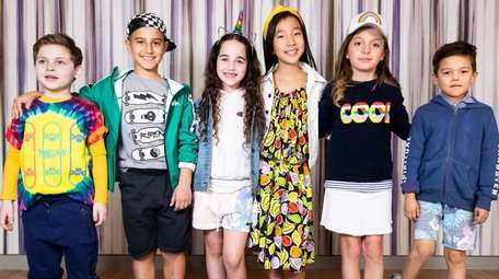 Spring fashion trends for kids -- from rainbows